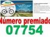 Número agraciado SOTEO BICI Gasolinera de Reza