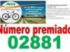 SEGUNDO NÚMERO PREMIADO SORTEO BICI GASOLINERA DE REZA